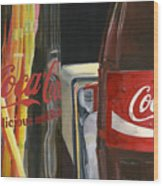 Have A Coke... Wood Print