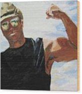 Have You Seen My Beachball Wood Print