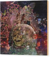 Have Your Tickets Out And Ready Betsy C Knapp Wood Print