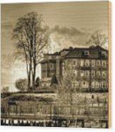 Havre De Grace Promenade Wood Print