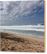 Hawaii Northshore Wood Print