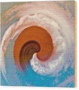 Hawaii Storm Not 4  Wood Print