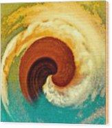 Hawaii Storm Not 5 Wood Print