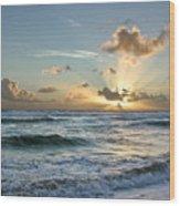 Hawaii Sunrise Wood Print