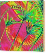 Hawaii Three O Wood Print