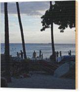 Hawaiian Afternoon Wood Print