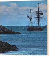 Hawaiian Chieftain-2 Wood Print