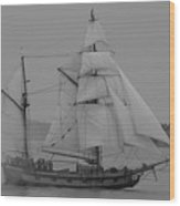 Hawaiian Chieftan Wood Print