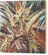 Hawaiian Fireworks Wood Print