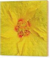 Hawaiian Hibiscus Wood Print