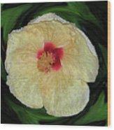 Hawaiian Hybiscus Wood Print