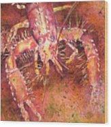 Hawaiian Lobster Wood Print