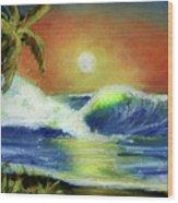 Hawaiian Moon #399 Wood Print