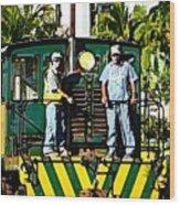 Hawaiian Railway Wood Print