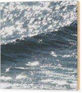 Hawaiian Wave Wood Print