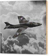 Hawker Hunter Wood Print
