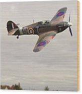 Hawker Hurricane -2 Wood Print