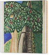 Hawkesbury's River-train. Wood Print
