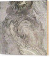 Hawkhair Wood Print