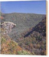 Hawksbill Crag Wood Print