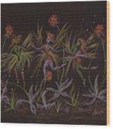 Hawkweed Dance Wood Print
