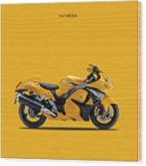 Hayabusa In Yellow Wood Print