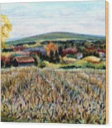 Haycock Mountain In Bucks County Pa Wood Print