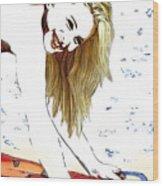 Hayley Number Fifteen Wood Print