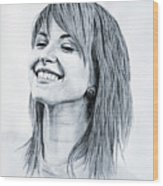 Hayley Williams. Wood Print