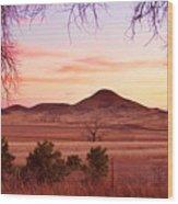Haystack Mountain - Boulder County Colorado -  Sunset Evening Wood Print