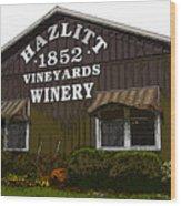 Hazlitt Winery 1852 Wood Print