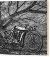 Hd Cafe Racer  Wood Print