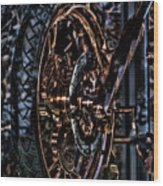 Hdr Liberty Bike Copper Ny Wood Print