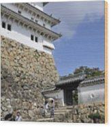 He Gate Himeji Castle Japanese Castles Doorway Gateway Japan Wood Print