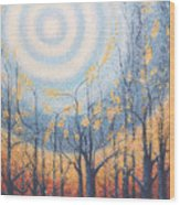 He Lights The Way In The Darkness Wood Print