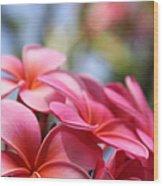 He Pua Lahaole Ulu Wehi Aloha Wood Print