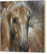 Head Horse 2 Wood Print