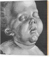 Head Of A Child Wood Print