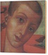 Head Of A Youth Kuzma Petrov-vodkin - 1910 Wood Print