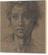Head Of Saint John The Baptist Wood Print