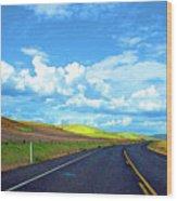 Heading Toward The Palouse Wood Print
