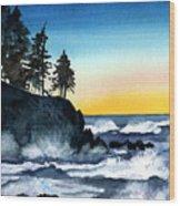 Headland Wood Print