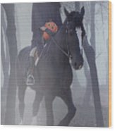 Headless Horseman Wood Print by Christine Till