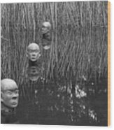 Heads Wood Print