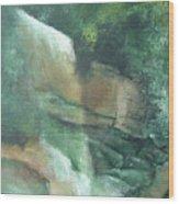 Headstone Falls Wood Print
