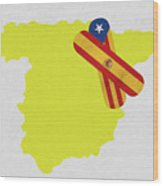 Heal Spain And Catalonia Wood Print