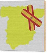 Heal Spain Wood Print
