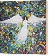 Healing Angel 1 Wood Print