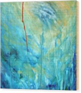 Healing II Wood Print