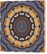 Healing Mandala 16 Wood Print by Bell And Todd